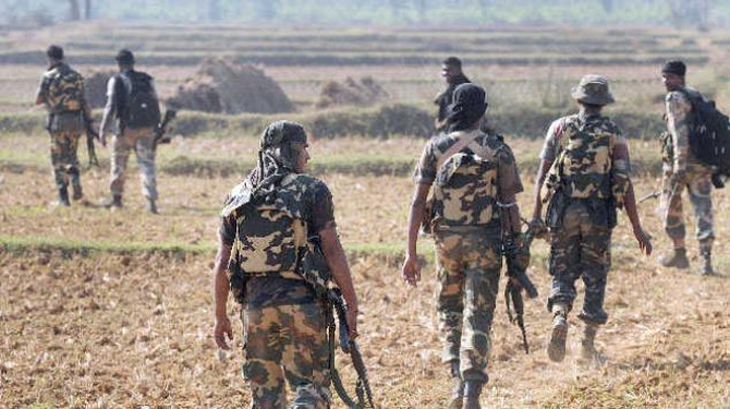 CRPF man is our captive: Maoists