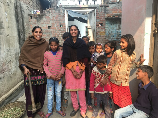 Dalit girls in Muzaffarnagar