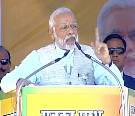 Congress ruined Uttarakhand, opposed creation of state: Modi