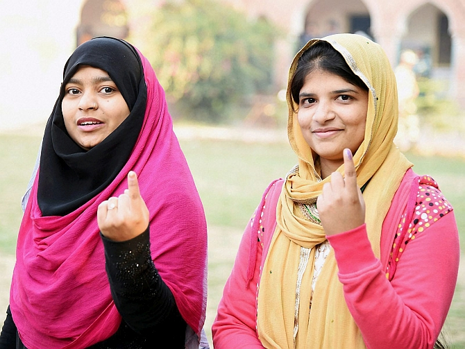 'Exemplary' 64 percent turnout in phase 1 of UP polling