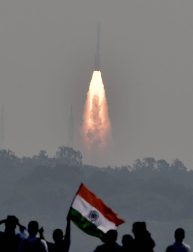 Isro Makes History Launches 104 Satellites In One Go