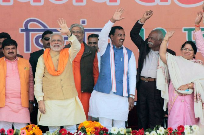 UP: Even a 10% drop in vote share won't hit BJP's chances
