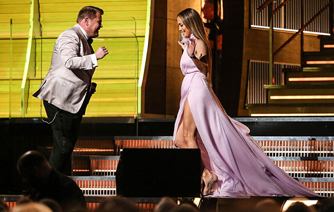 Jlo and james Corden