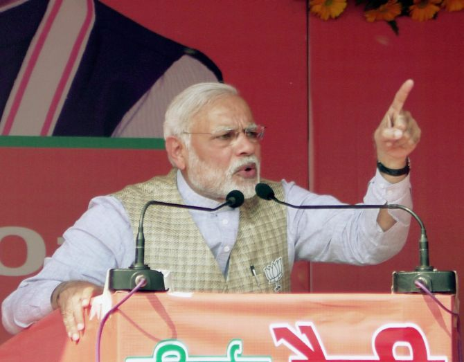 UP is maai-baap, I'm its adopted son:PM