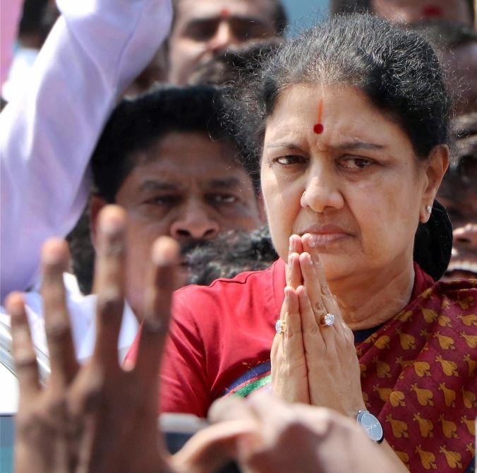 Even before jail release, Sasikala rocks TN politics
