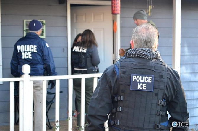 ICE targeted enforcement deportation