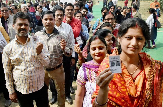 Voting underway in Uttar Pradesh and Manipur