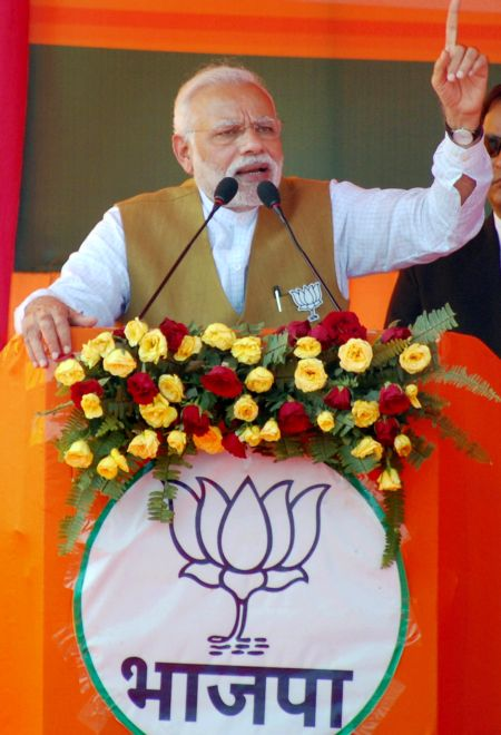 Congress to knock EC's door over PM Modi's remark at Fatehpur rally