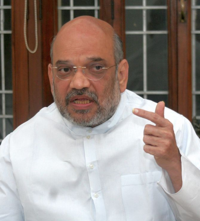 No post-poll alliance with BSP or any party in UP: Amit Shah