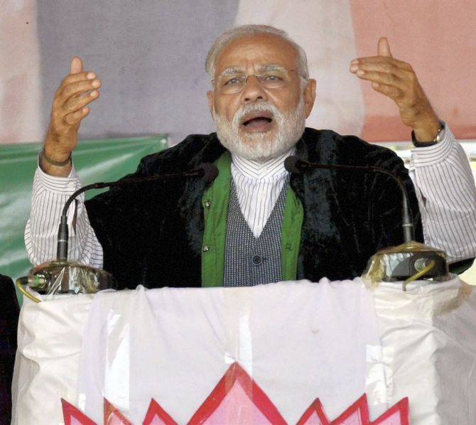 PM Modi promises to end economic blockade in Manipur