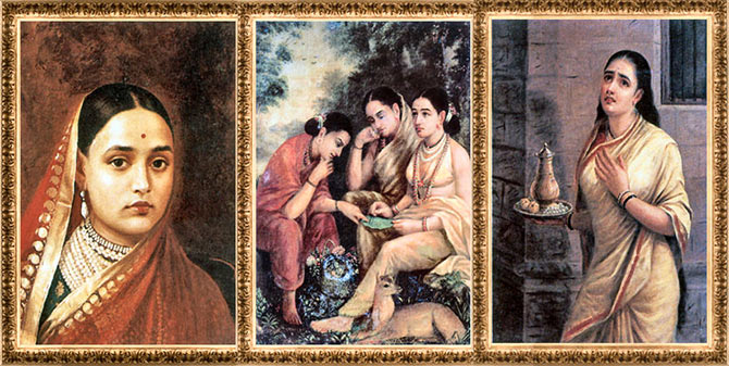 Raja Ravi Varma paintings in Baroda