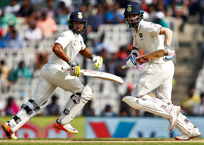 KL Rahul and Karun Nair