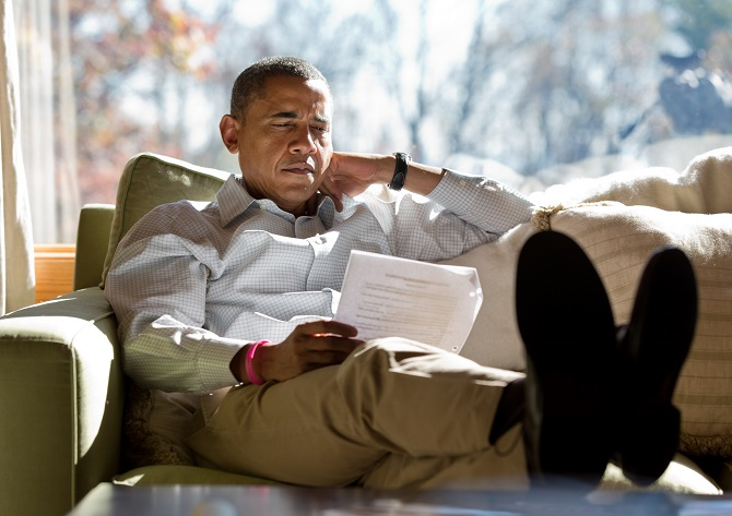 Obama shares his reading list
