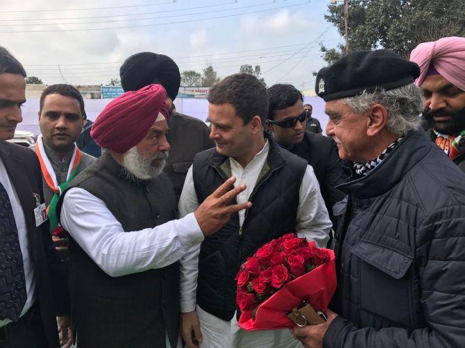 Rahul names Amarinder as Punjab CM face