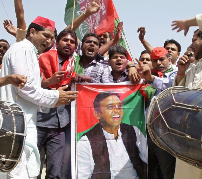In Meerut, it's Akhilesh all the way
