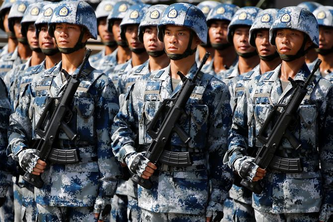 China significantly ups military presence along LAC
