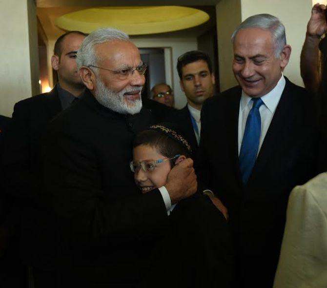 Dear Mr Modi, I love you: 26/11 survivor Moshe tells PM