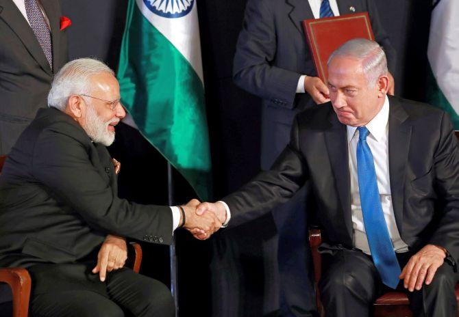 Pakistan fears deepening Indo-Israel ties post Modi visit