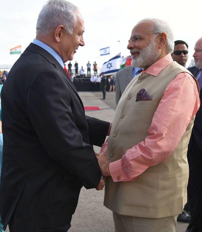 Modi wraps up 'historic' 3-day visit to Israel, makes his way to Hamburg