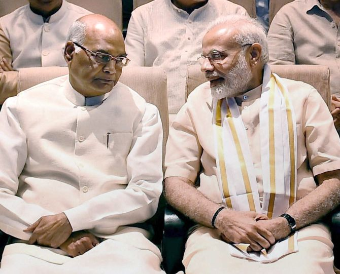 Prez poll: PM congratulates Kovind 'in advance'