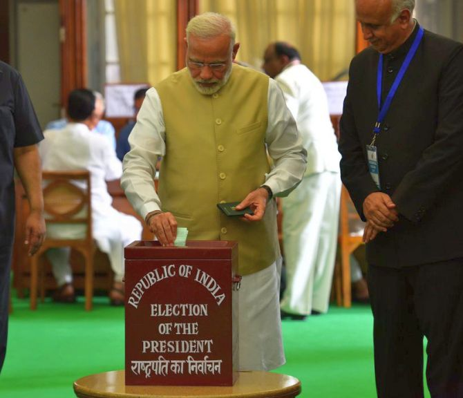 Prez poll: 99% turnout amid rumours of cross-voting