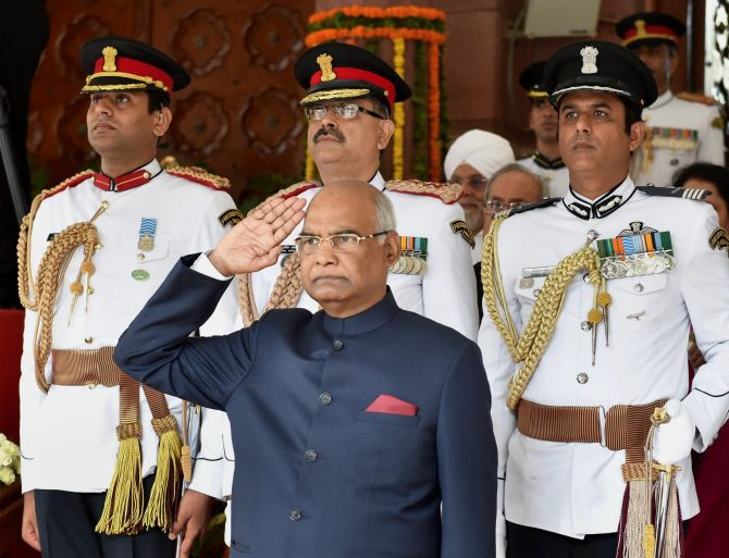 FULL TEXT of President Ram Nath Kovind's first speech