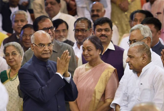 PHOTOS: Kovind sworn in as India's 14th President