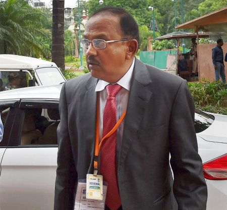 Doval, China's NSA discuss 'major problems' amid Sikkim standoff