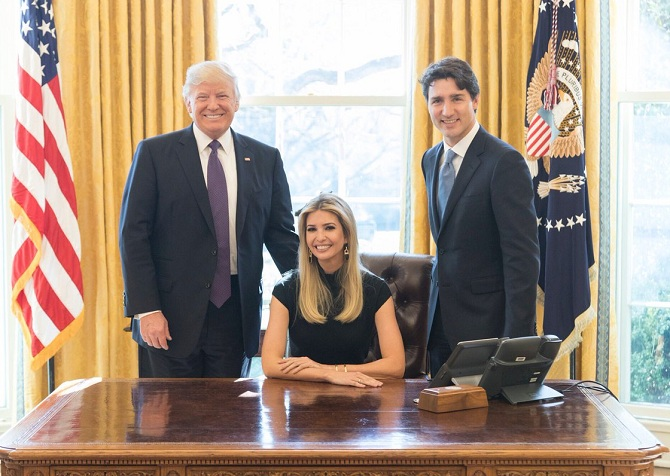 Ivanka Trump Oval Office