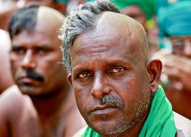 Protesting Indian farmers