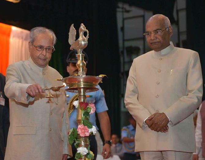 Bihar Governor Ram Nath Kovind is NDA's Prez nominee
