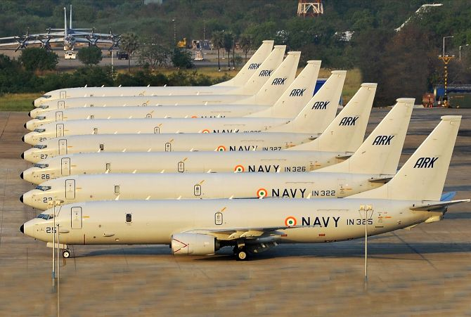 India deployed P-8I naval jets during Doklam face-off