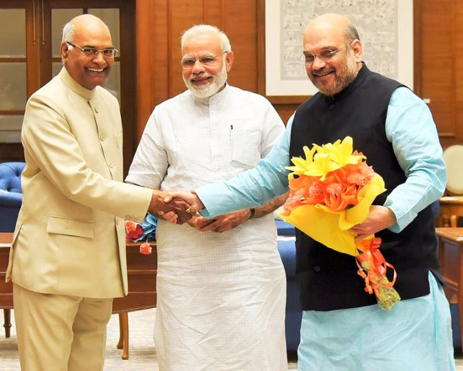 Kovind to file nomination on Friday; Modi, Shah to be present