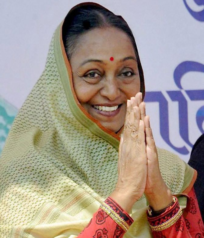 Meira Kumar, a diplomat-turned-politician