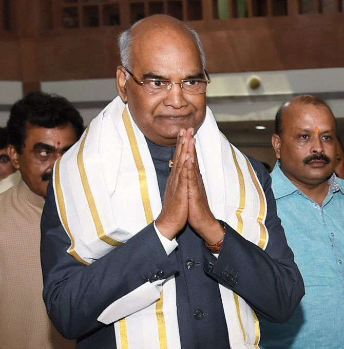 Numbers stacked in favour of Kovind for Monday's polls