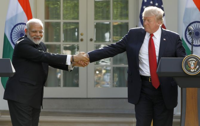 No talks between Modi and Trump on Ladakh: Sources