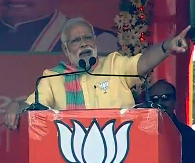 'Hard work more powerful than Harvard': Modi mocks economists over GDP data