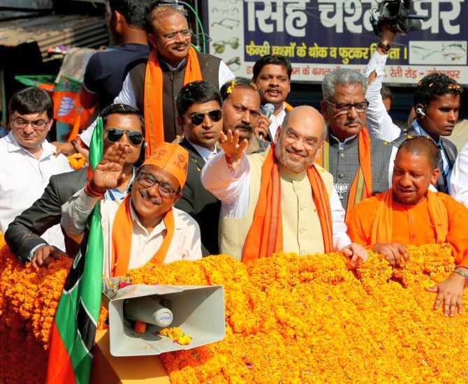 'Arresting Prajapati is to be BJP's first task in UP'