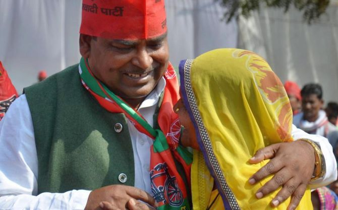 Why is Prajapati still in cabinet, UP governor asks CM Akhilesh