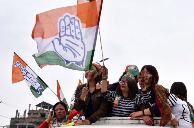 Won 3 of 5 states, says Congress defending Rahul