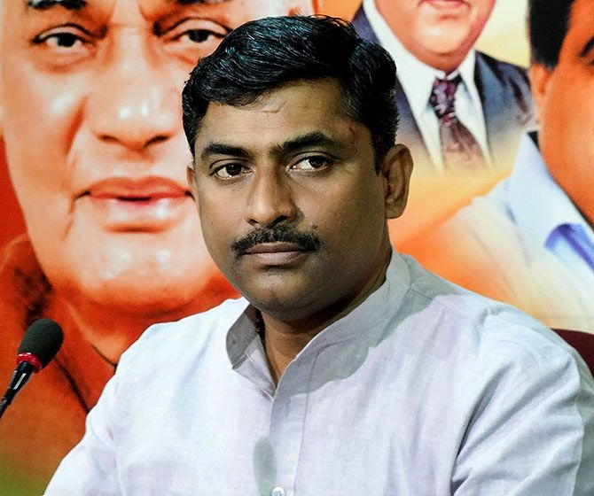 Bharatiya Janata Party leader Muralidhar Rao