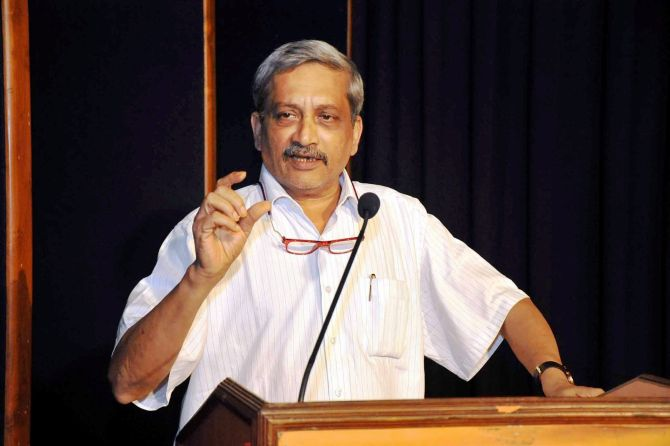 BJP in race to form government in Goa: Parrikar