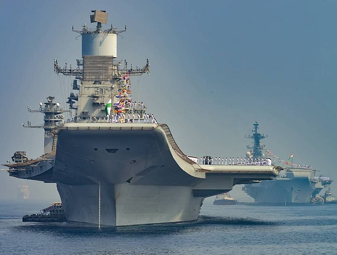 Ins Vishal Vikrant S Successor Will Have Serious Us Tech