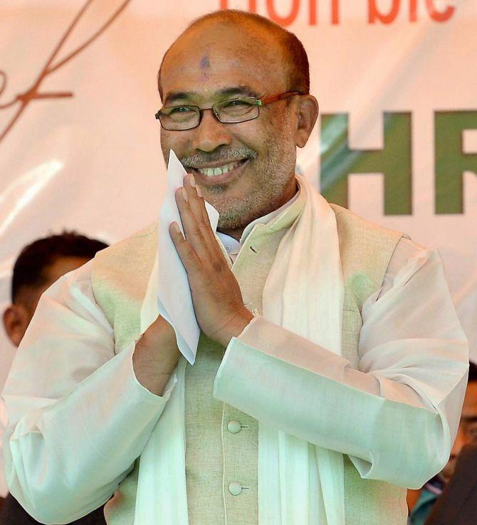 Manipur's BJP government wins trust vote