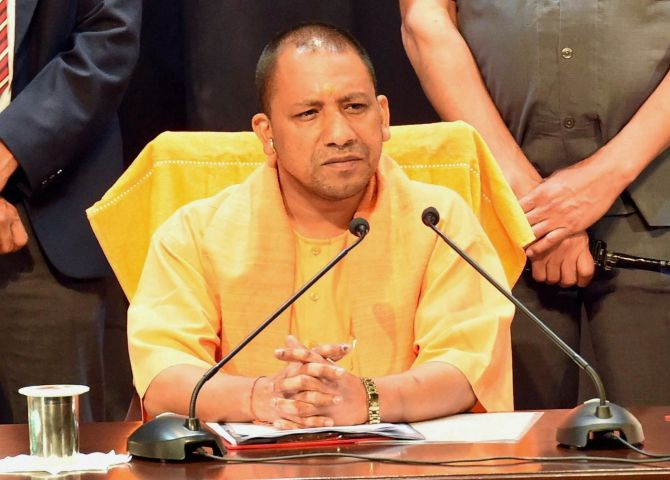 Not forcing anyone to raise Jai Shri Ram slogan: UP CM