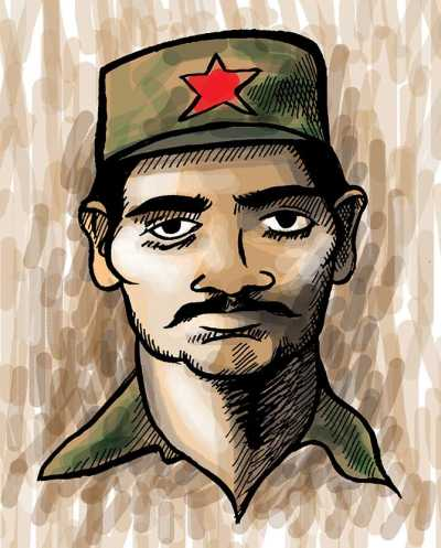 Hidma Madvi, the alleged mastermind of the April 24 attack, in which 25 CRPF jawans were killed inside the Bastar jungles