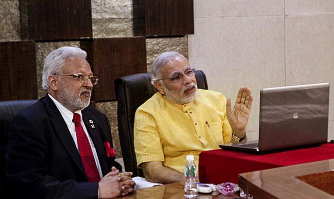 Shalabh Kumar: The desi who knows Trump best - Rediff.com India News