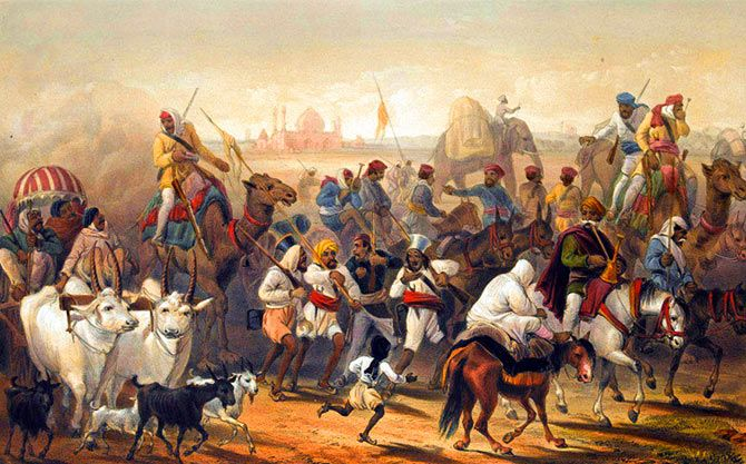 The forgotten brutality of the 1857 Mutiny - Rediff.com India News