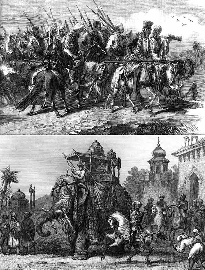The forgotten brutality of the 1857 Mutiny - Rediff com
