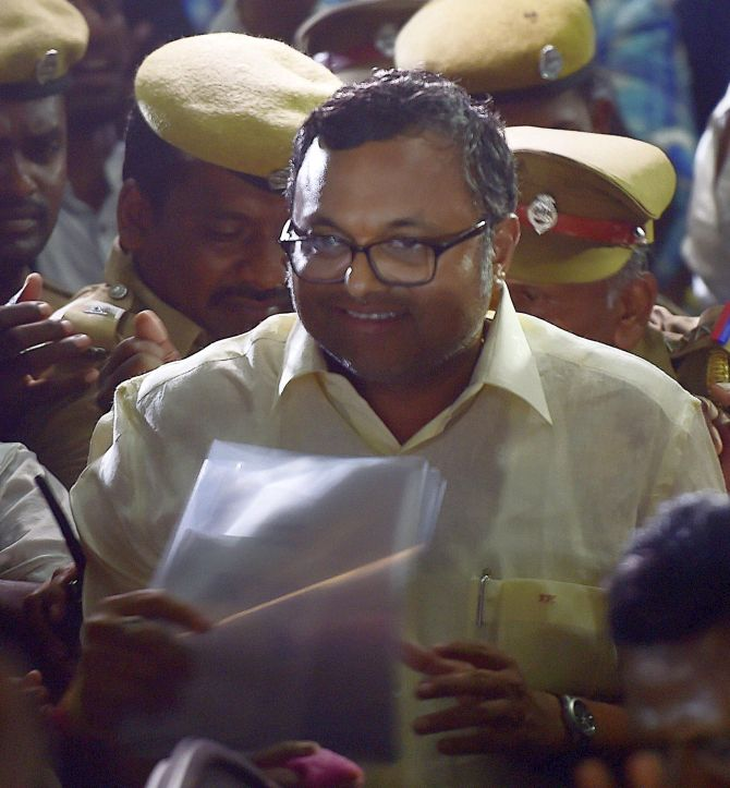 Karti takes jibe at Cong organisational rejig in TN